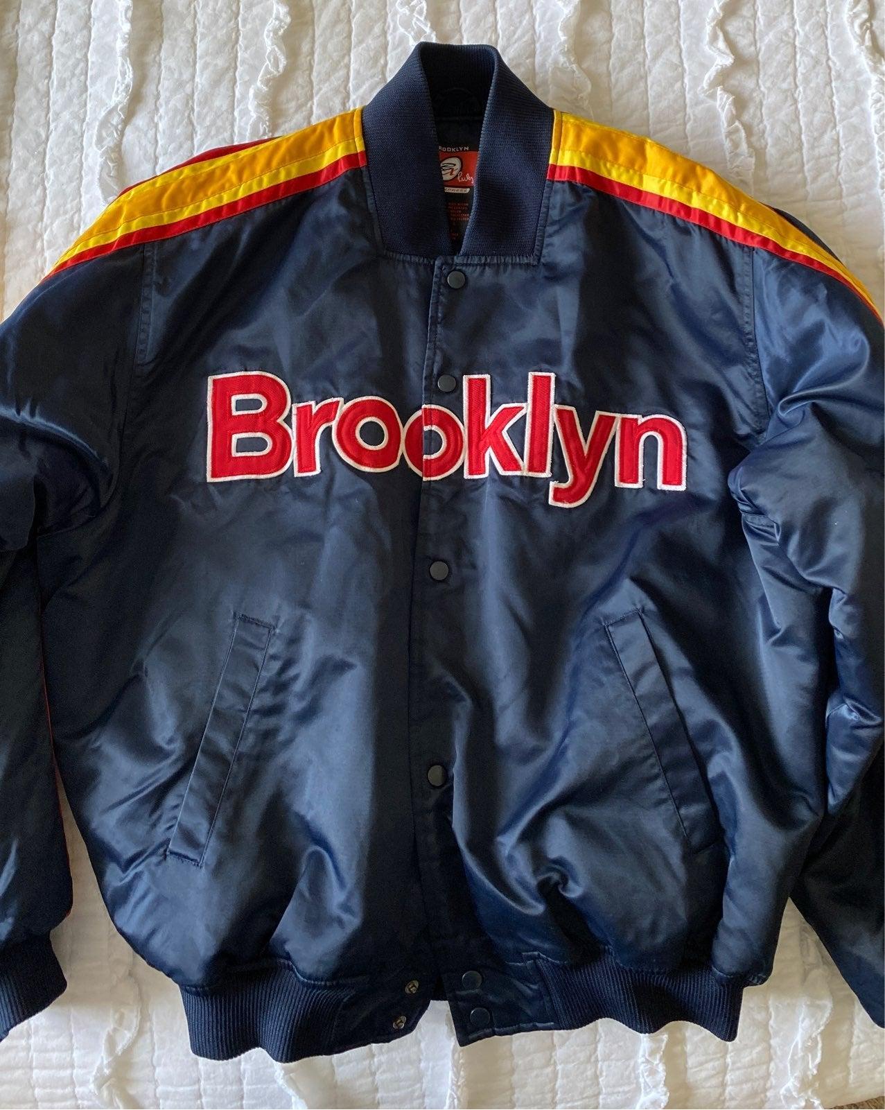 Brooklyn Express Letter/Bomber Jacket