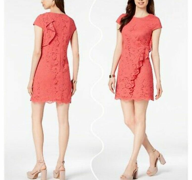 NWT Vince Camuto Flower Laced Dress