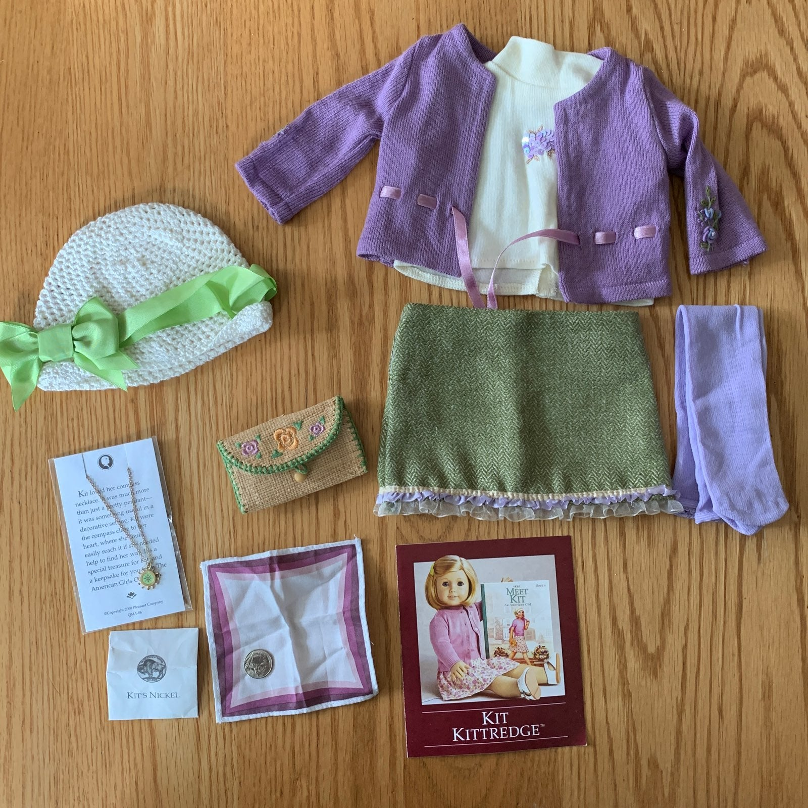 American Girl Kit outfit & accessories