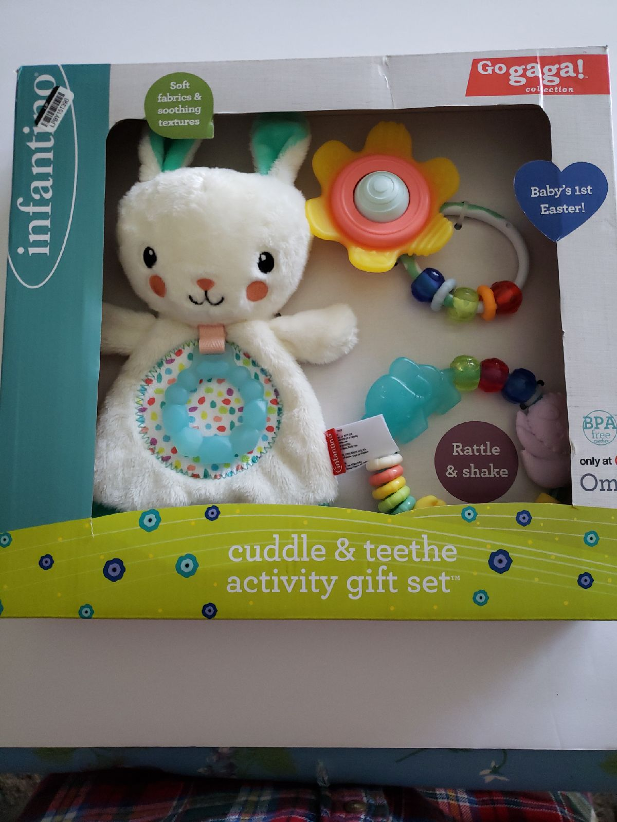 Infantino Go gaga! Baby Cuddle & Teether