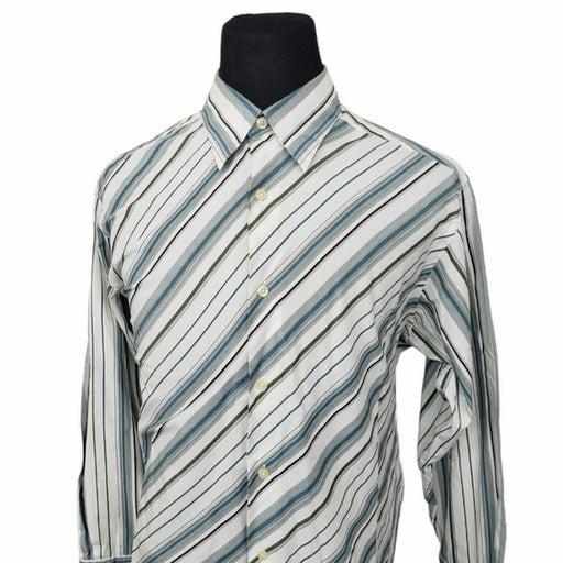 Crazy Horse L/S Button Down Shirt Stripe