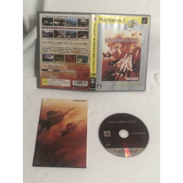 PlayStation 2 Ace Combat Zero The Belkan War PS2 Bandai Namco Japan Complete