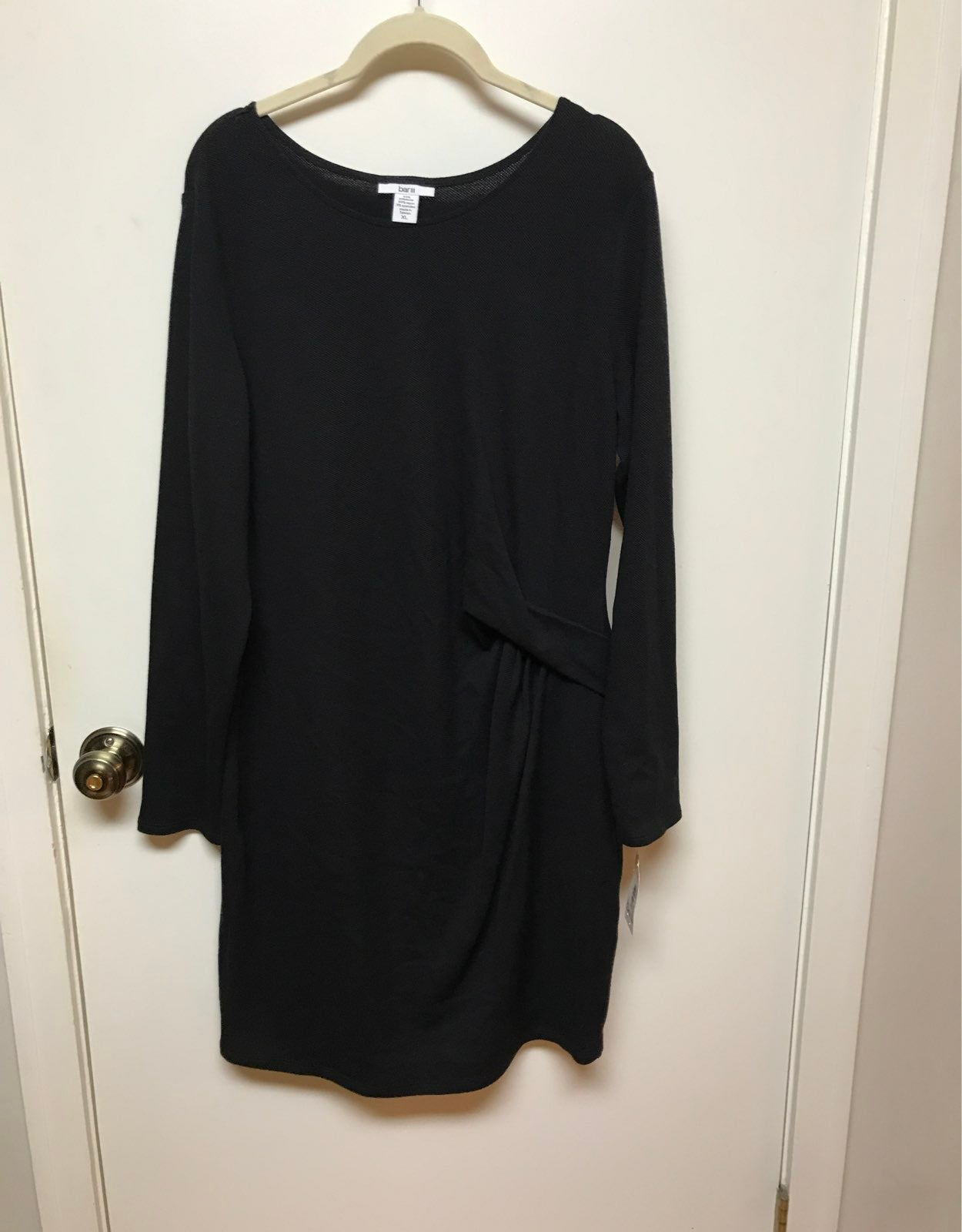 NWT Bar III black Dress XL