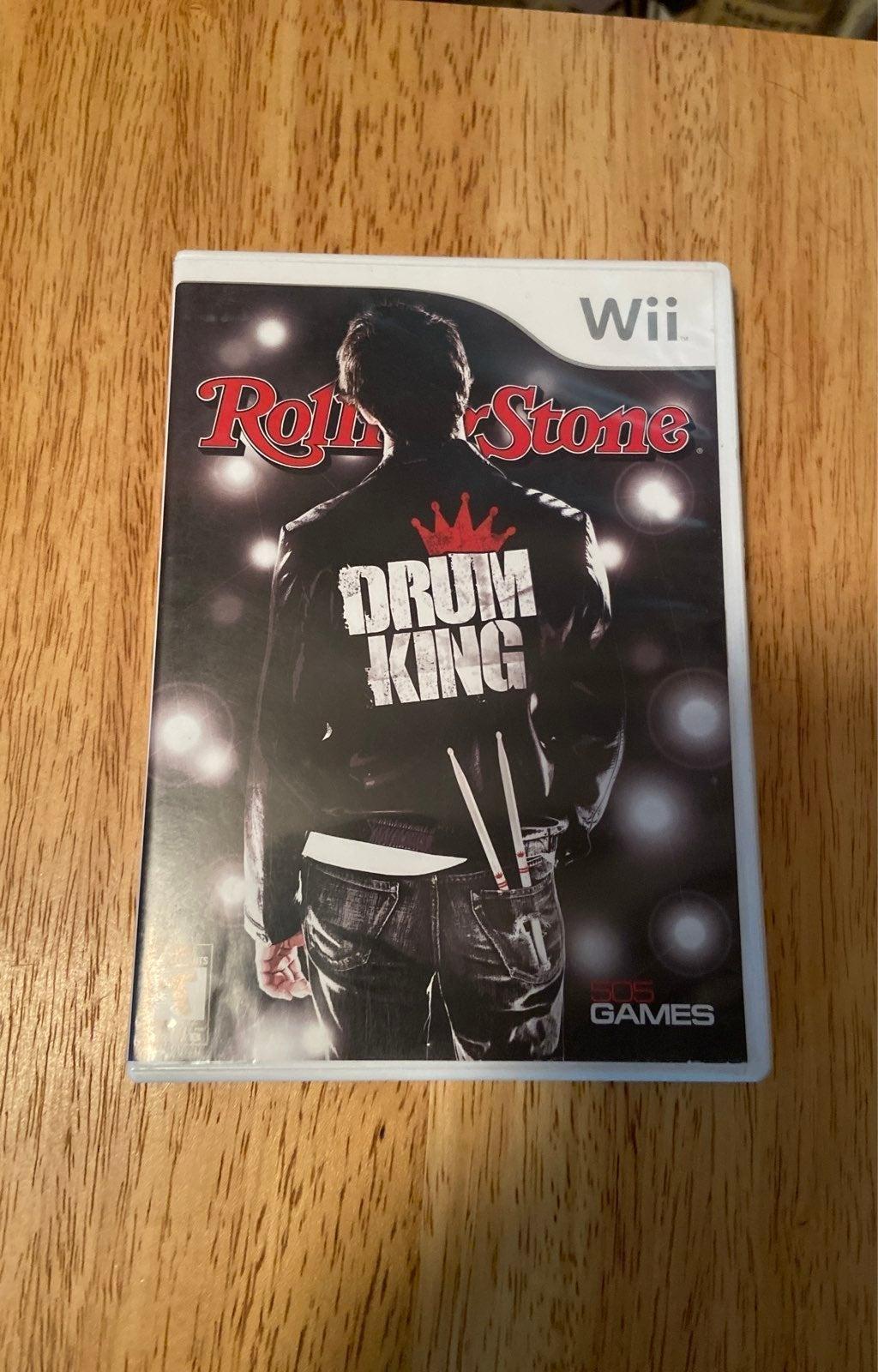 Nintendo wii game DRUM KING