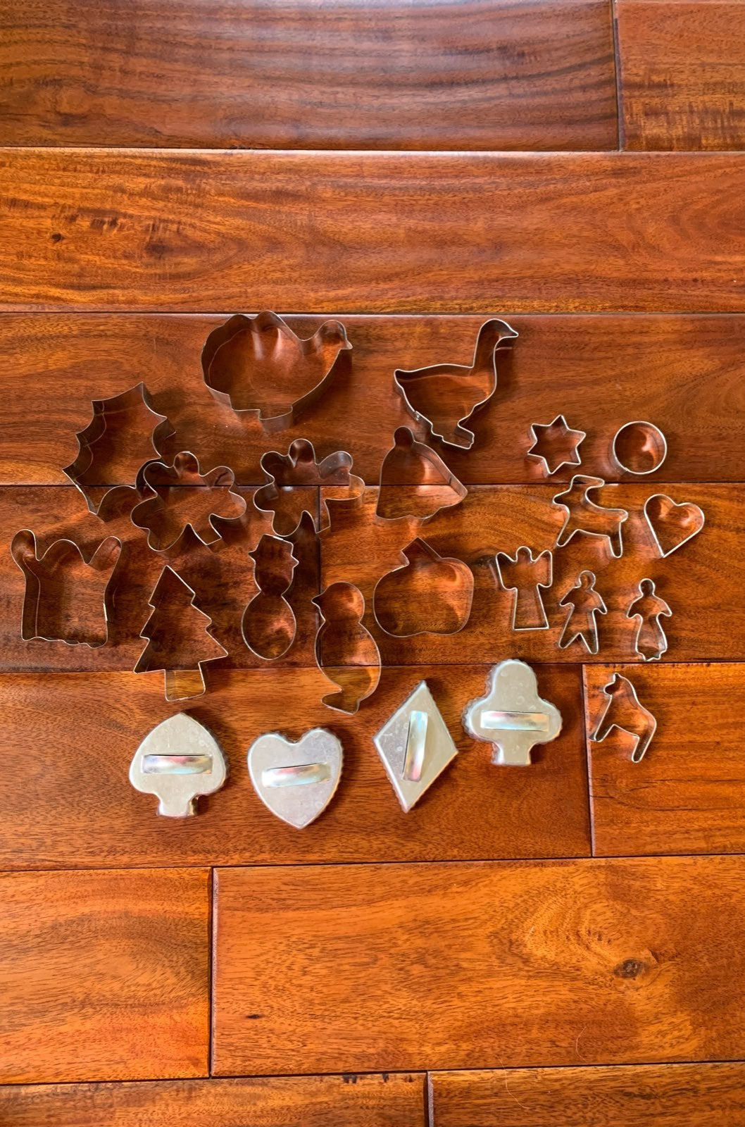 Themed cookie cutter lot