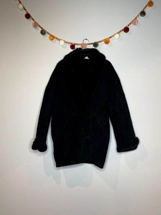 Vintage Marvin Richards fur leather coat