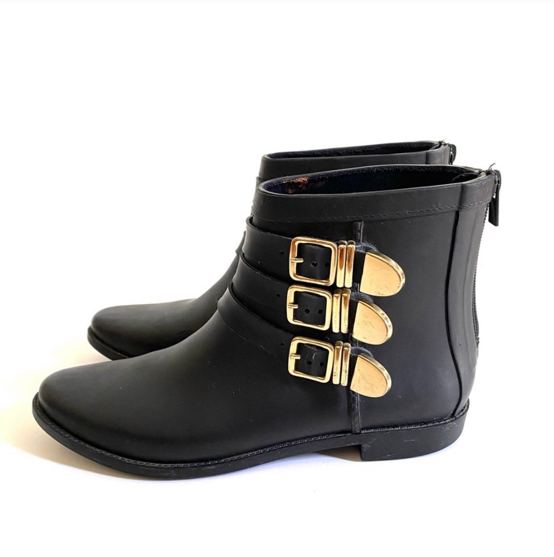 LOEFFLER RANDALL Black Rain Boots