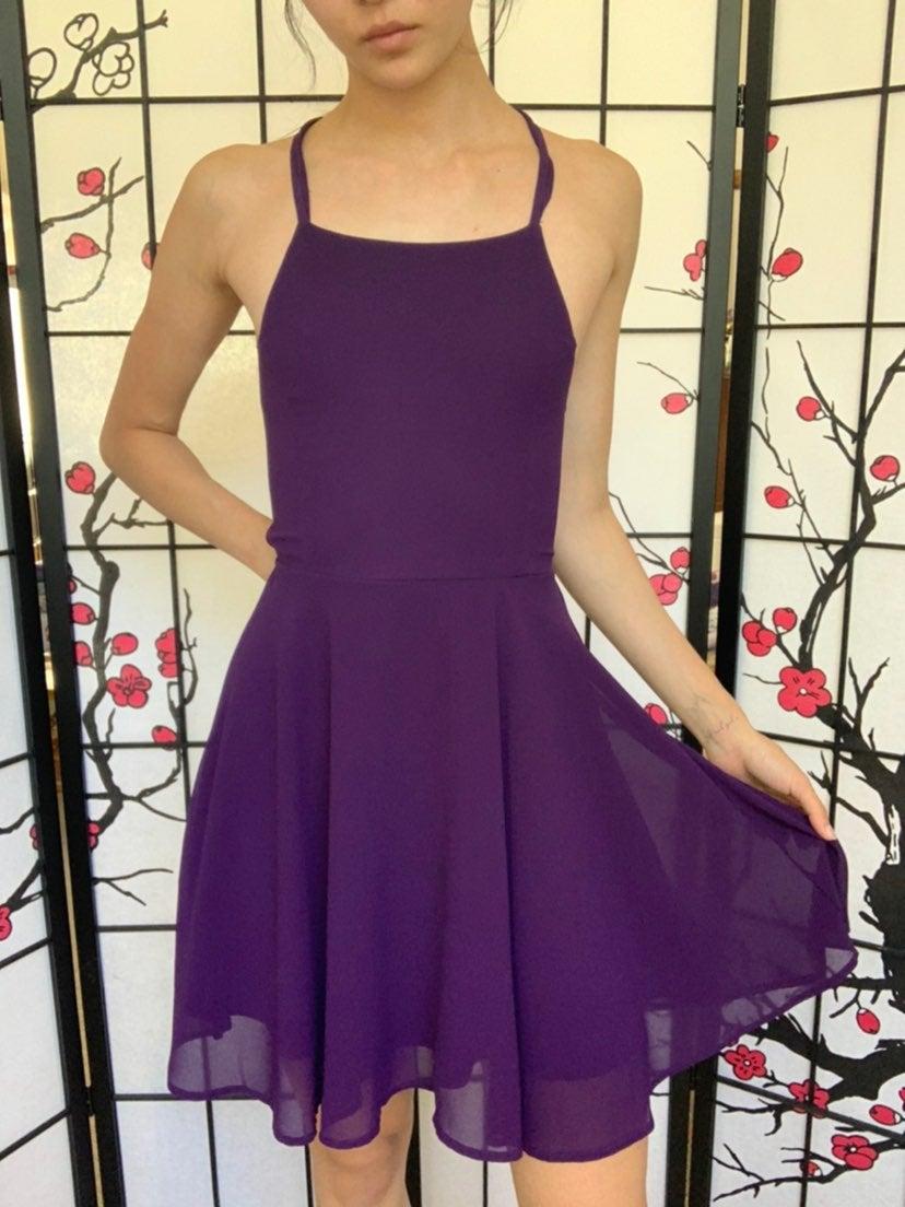 Purple Lulus Dress