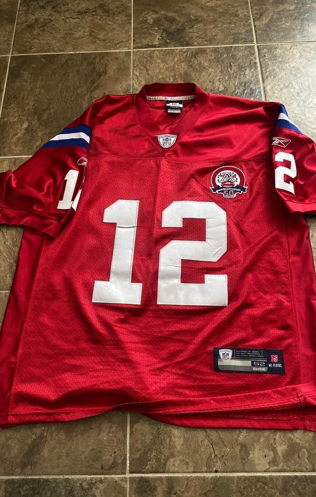 NFL TOM BRADY 50th anniversary jersey 52