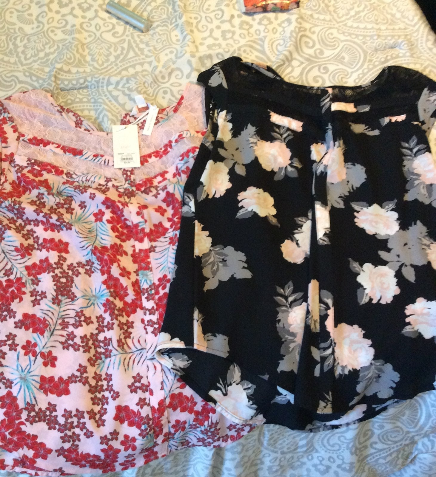 Candies floral tops