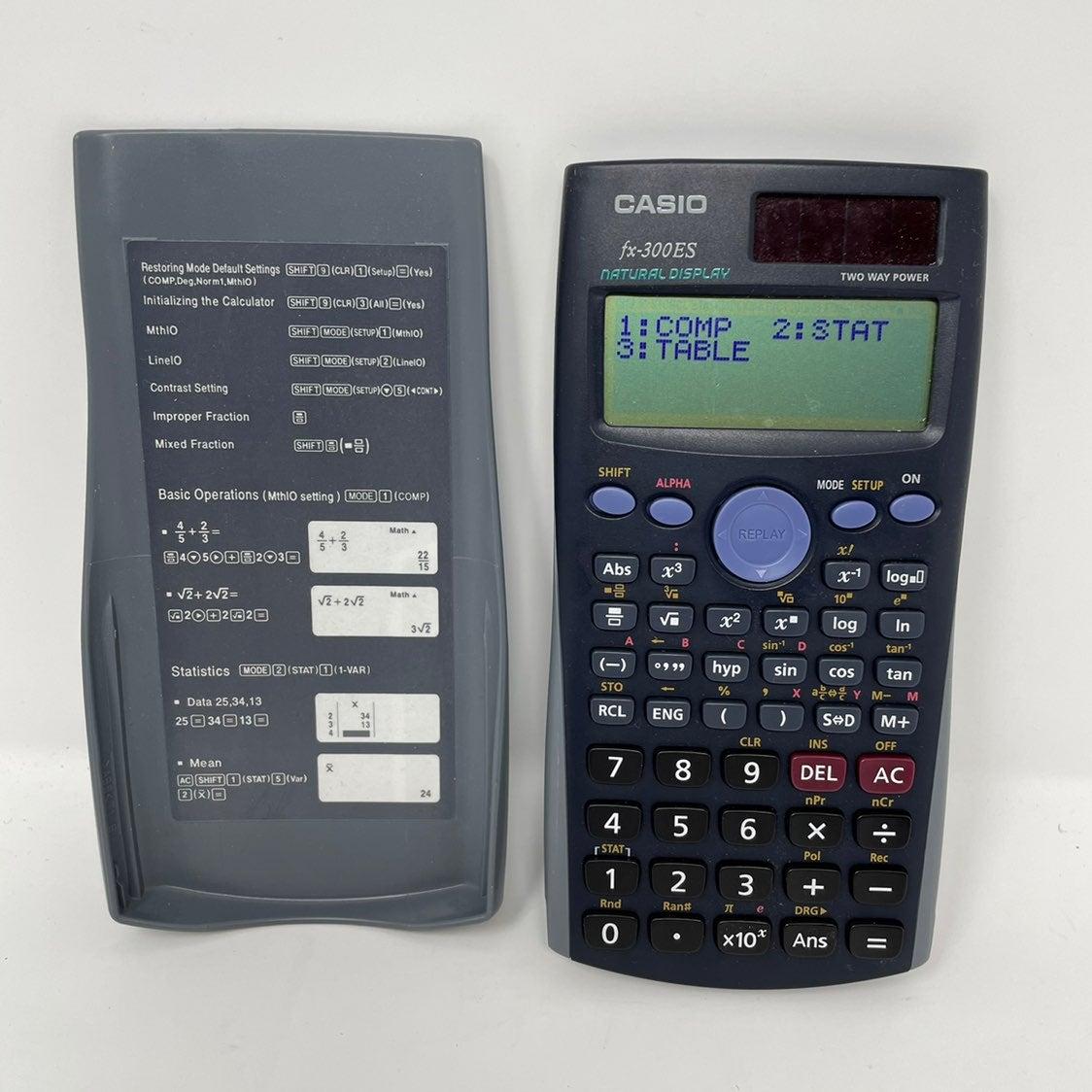 Casio fx-300ES Solar Scientific Calculat