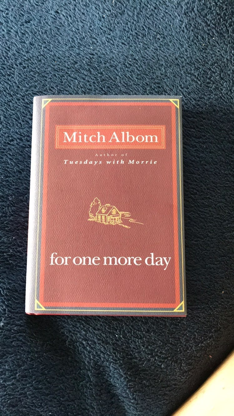 Motch albom For One More Day NEW