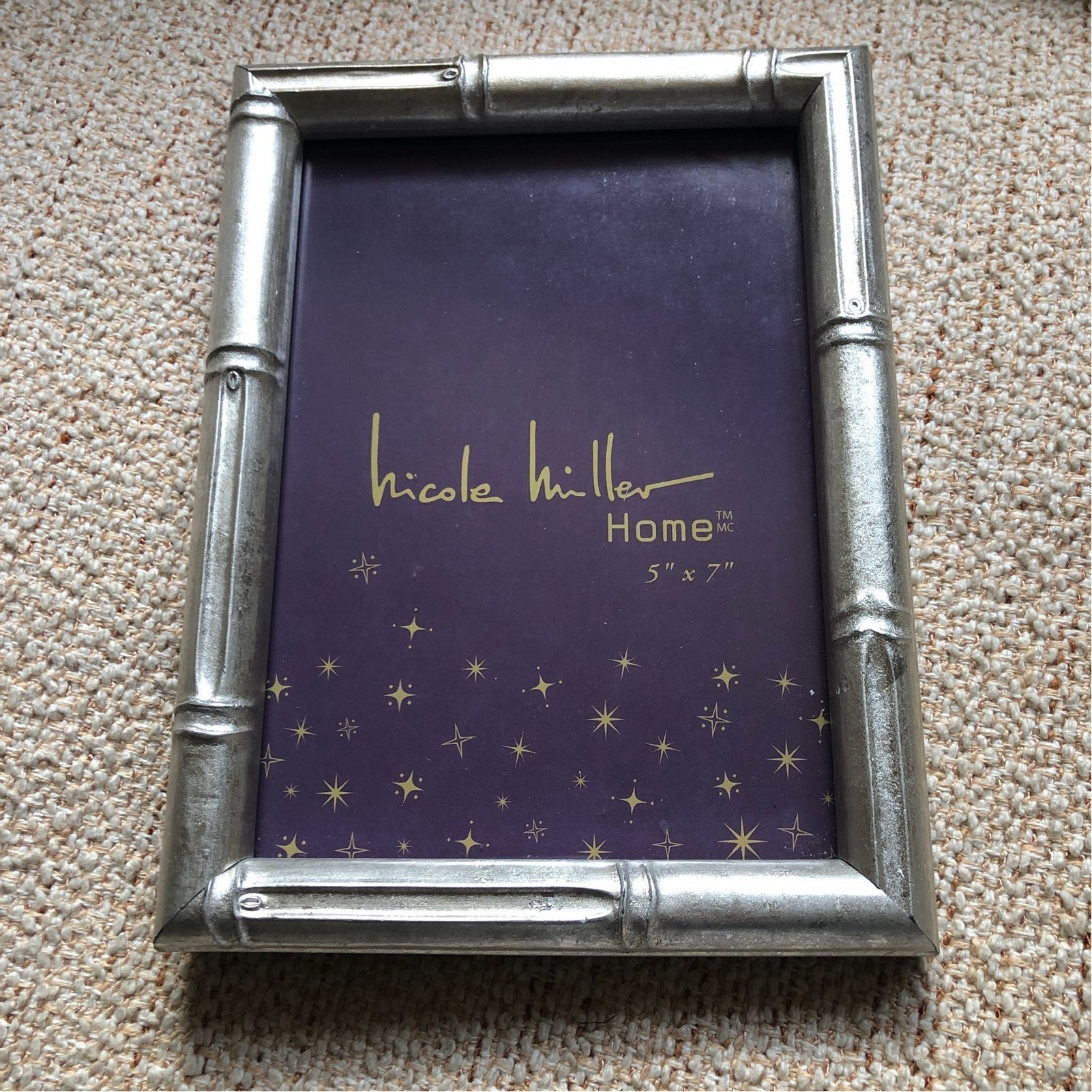 New-Nicole Miller Home 5x7 frame