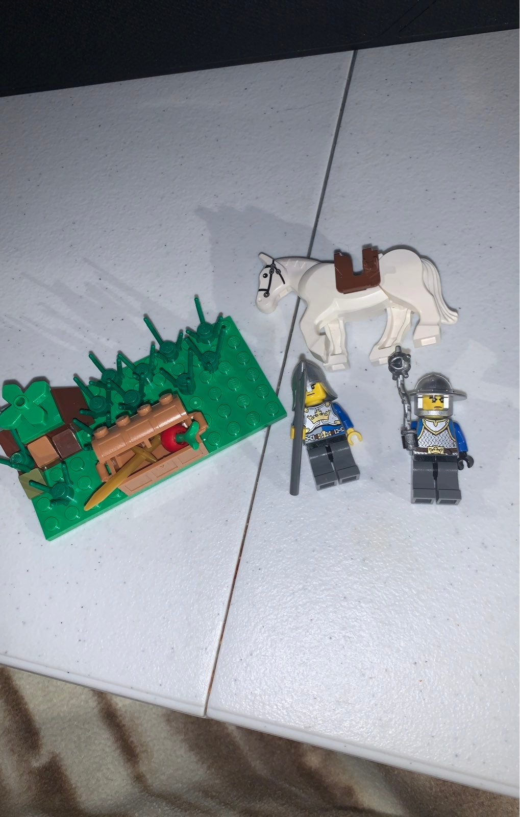 LEGO KNIGHTS MOC AND HORSE