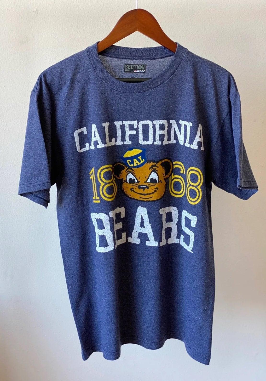 Majestic Cal Berkeley Bears Shirt Sz M