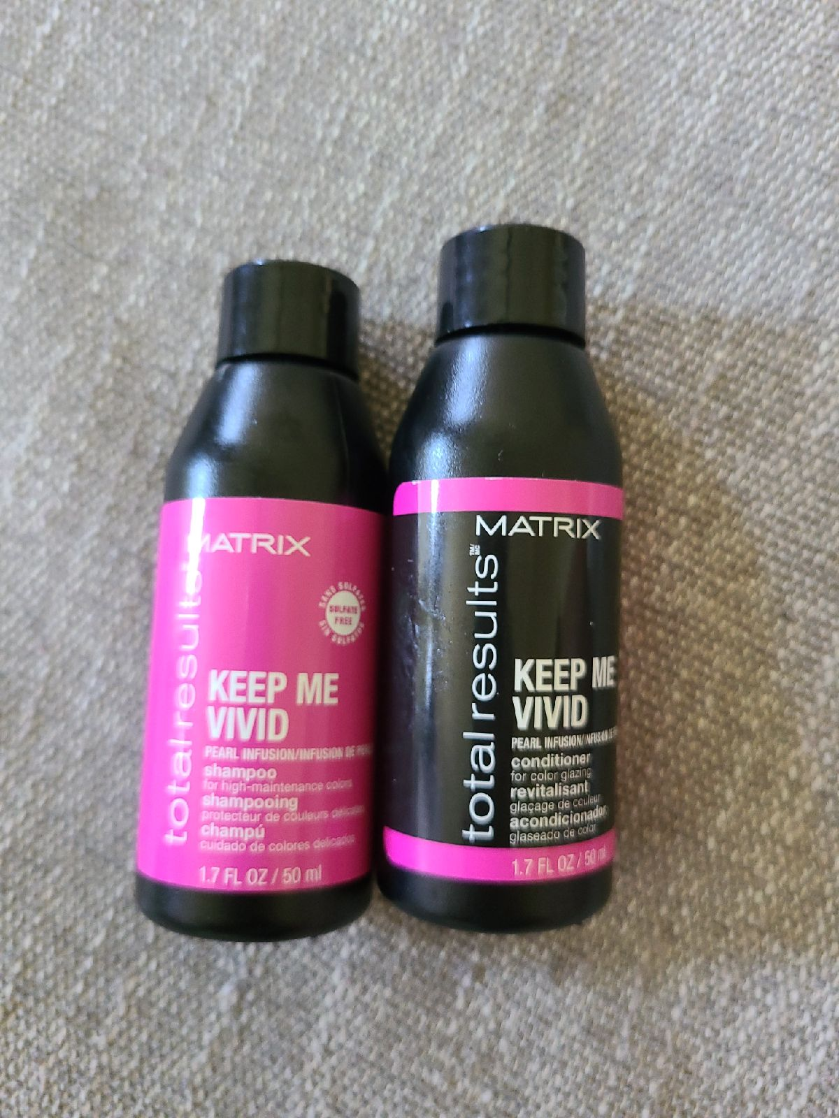 Matrix shampoo and conditioner set