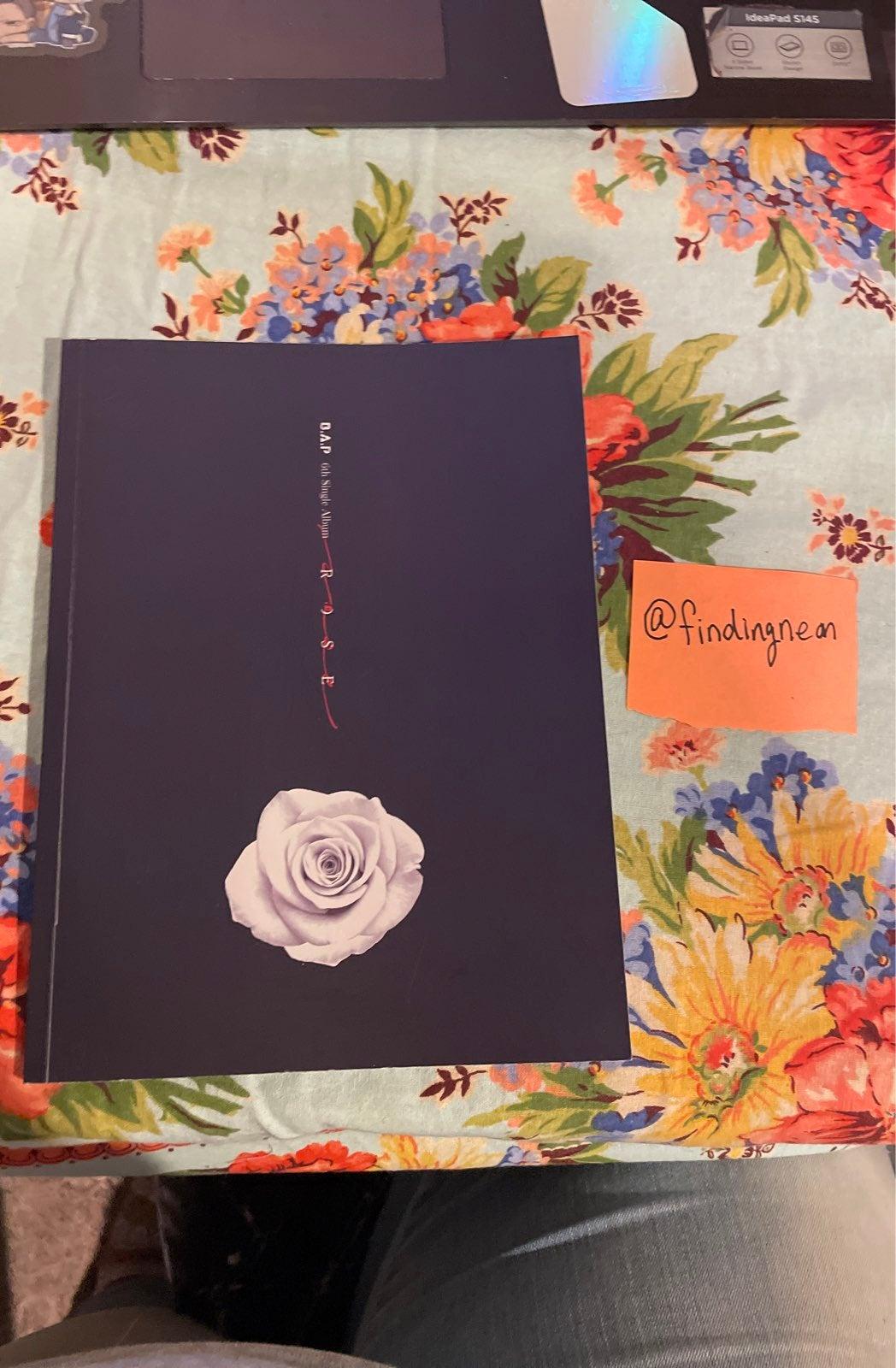 B.A.P Rose Album