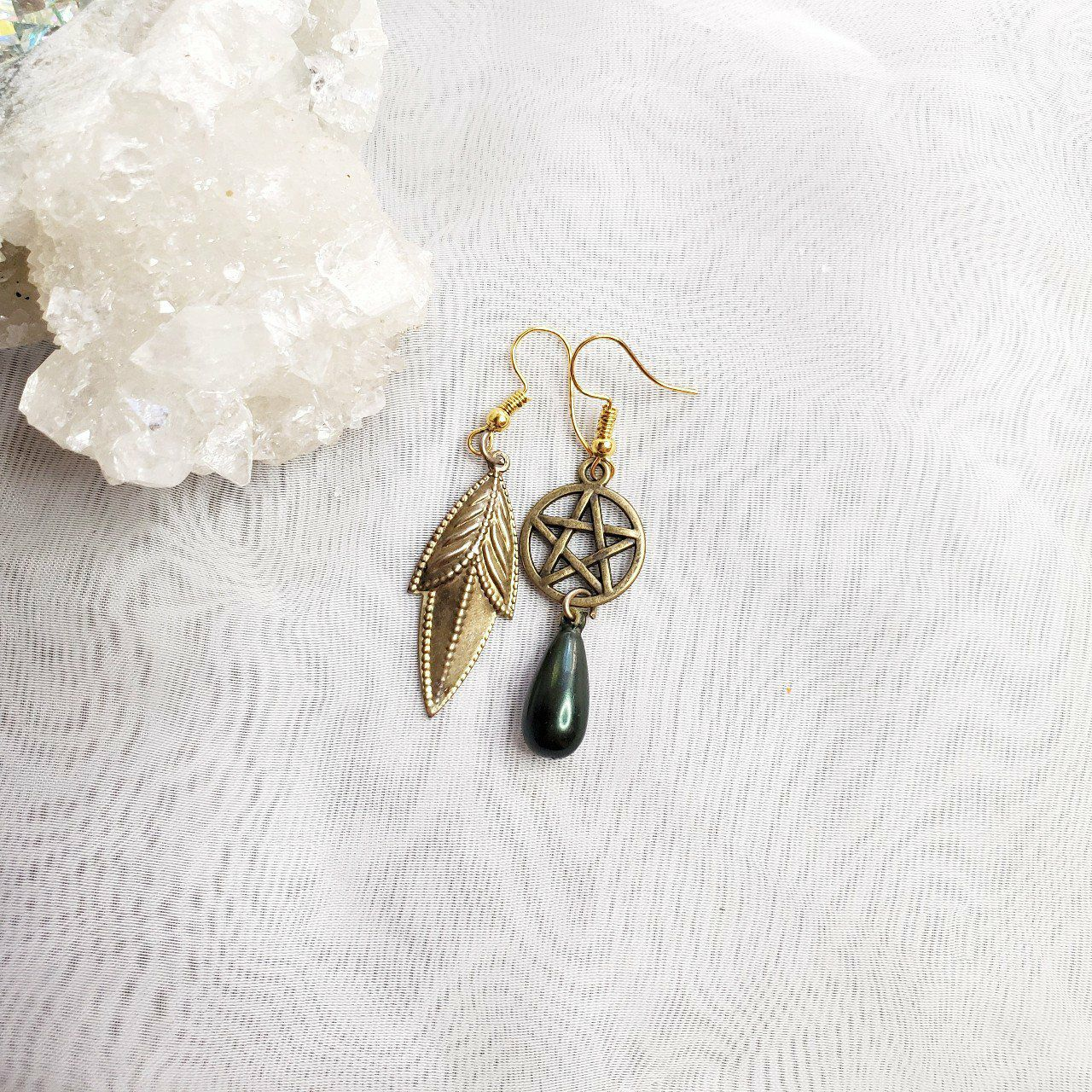 Handmade Witch Gothique Earrings
