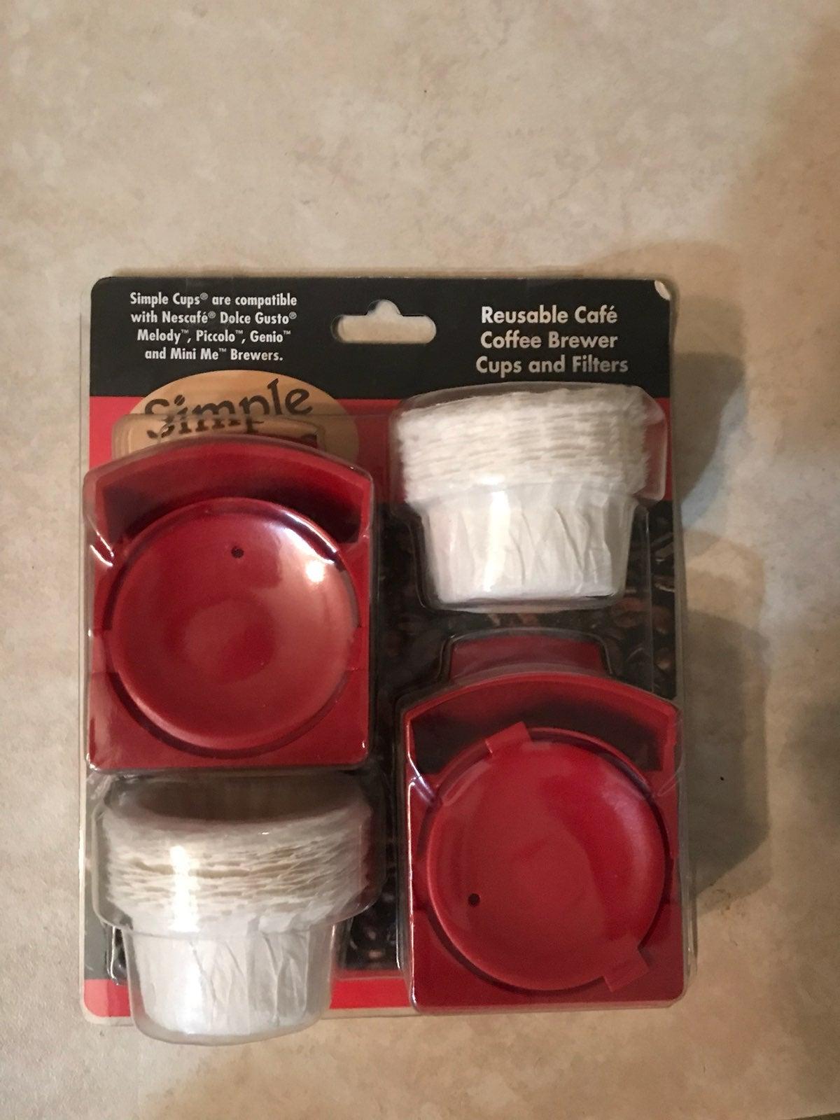 Simple Cups Reusable Nescafé Cups Nib