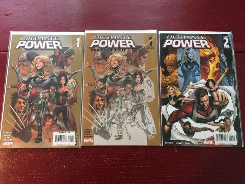 Lot of Marvel Ultimate Power comic books