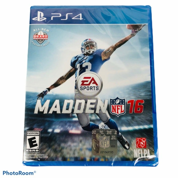 Madden NFL 16 PS4 Brand New Sealed Sony