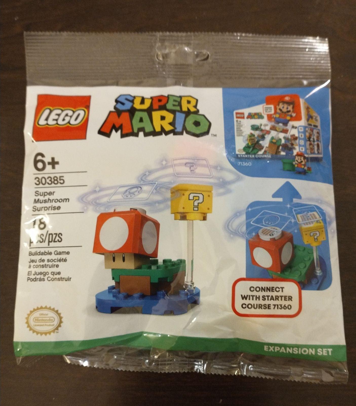 4 Lego Super Mario Polybags 30385