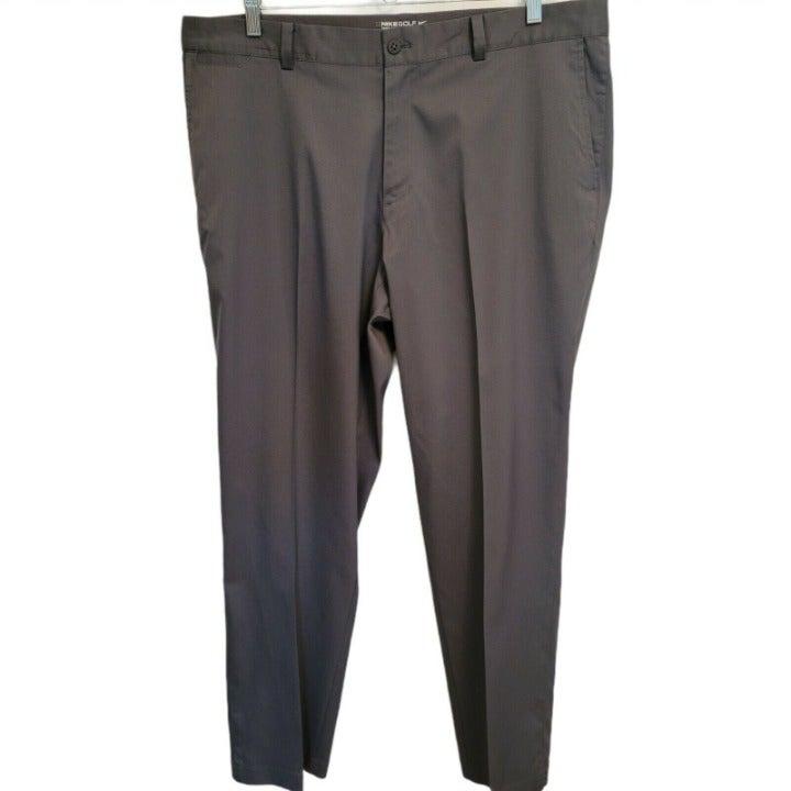 Men's Size 38x30 Nike Tour Performance Golf Pants - Black - Dri-Fit - Polyester