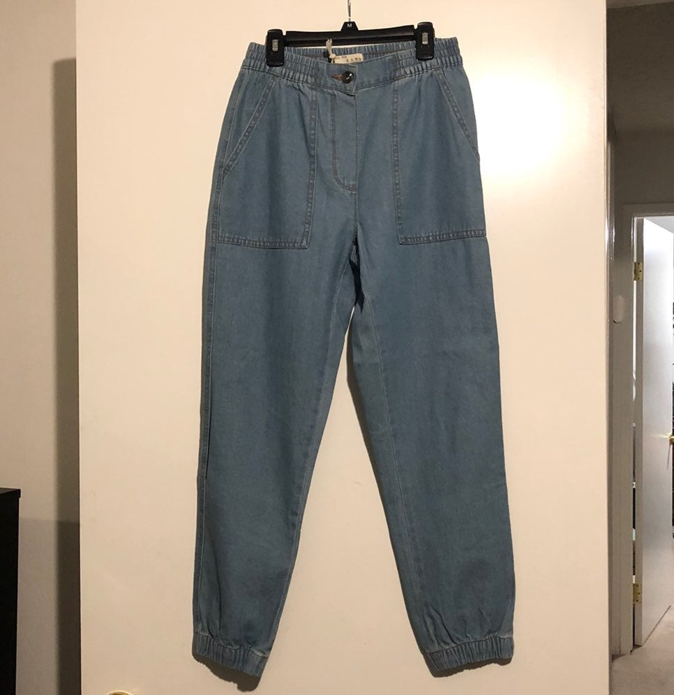 Cuffed Chino Jeans