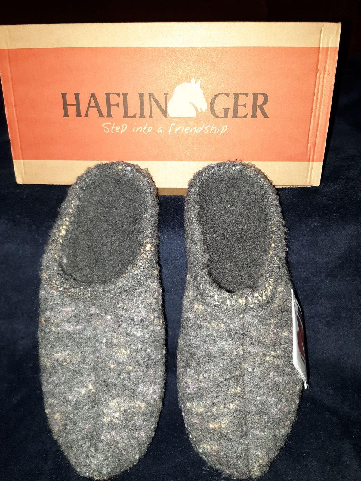 NWT Imported Haflinger Slippers size 39/
