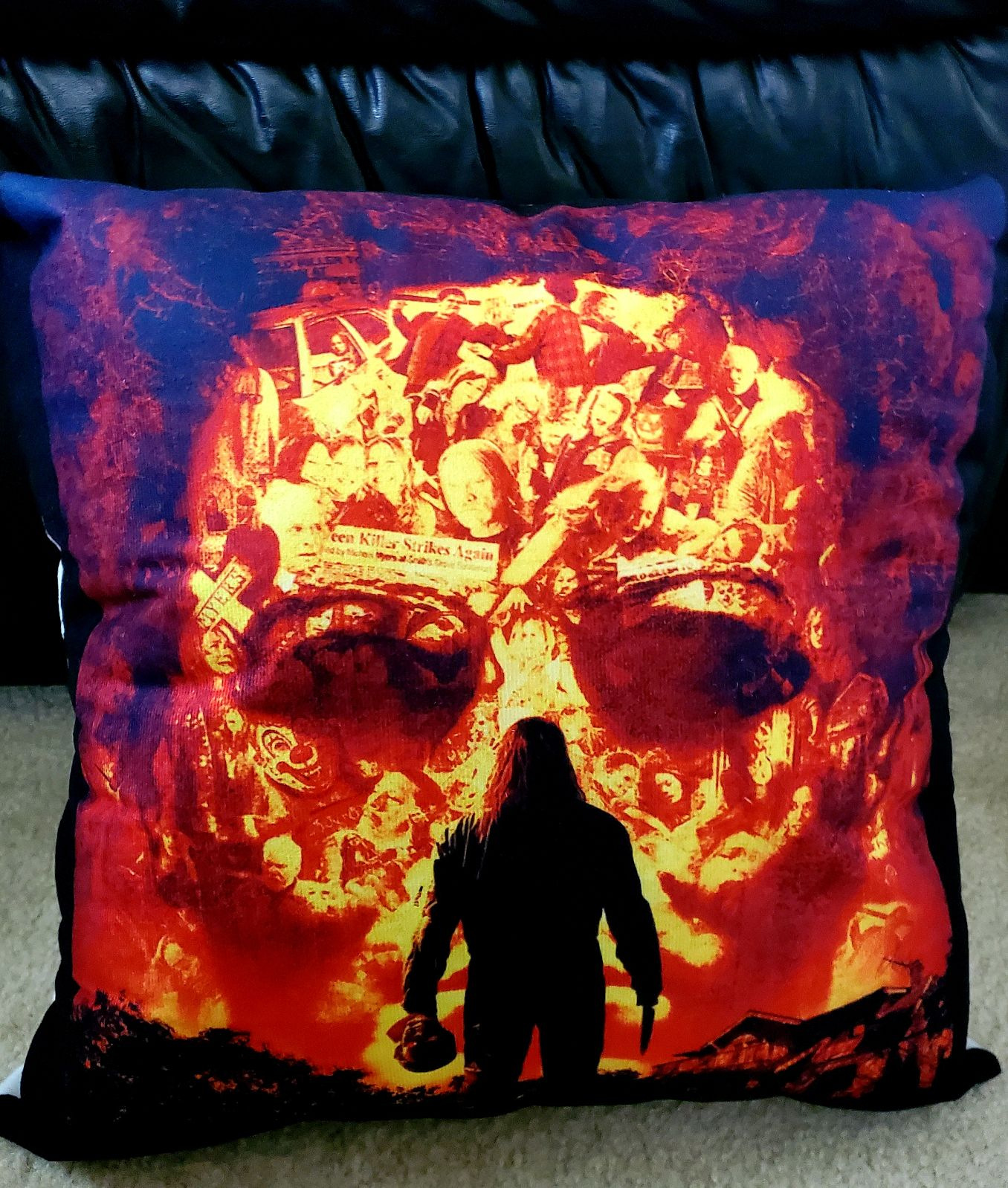 Rob Zombie RESERVED 18x18 Pillowcase