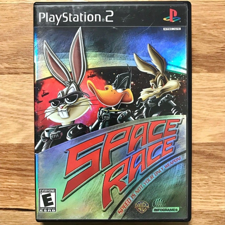 Space Race PlayStation 2 PS2 Game