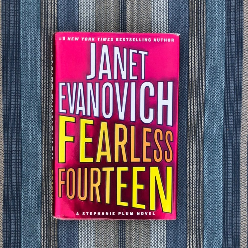 The Fearless Fourteen Hardcover book