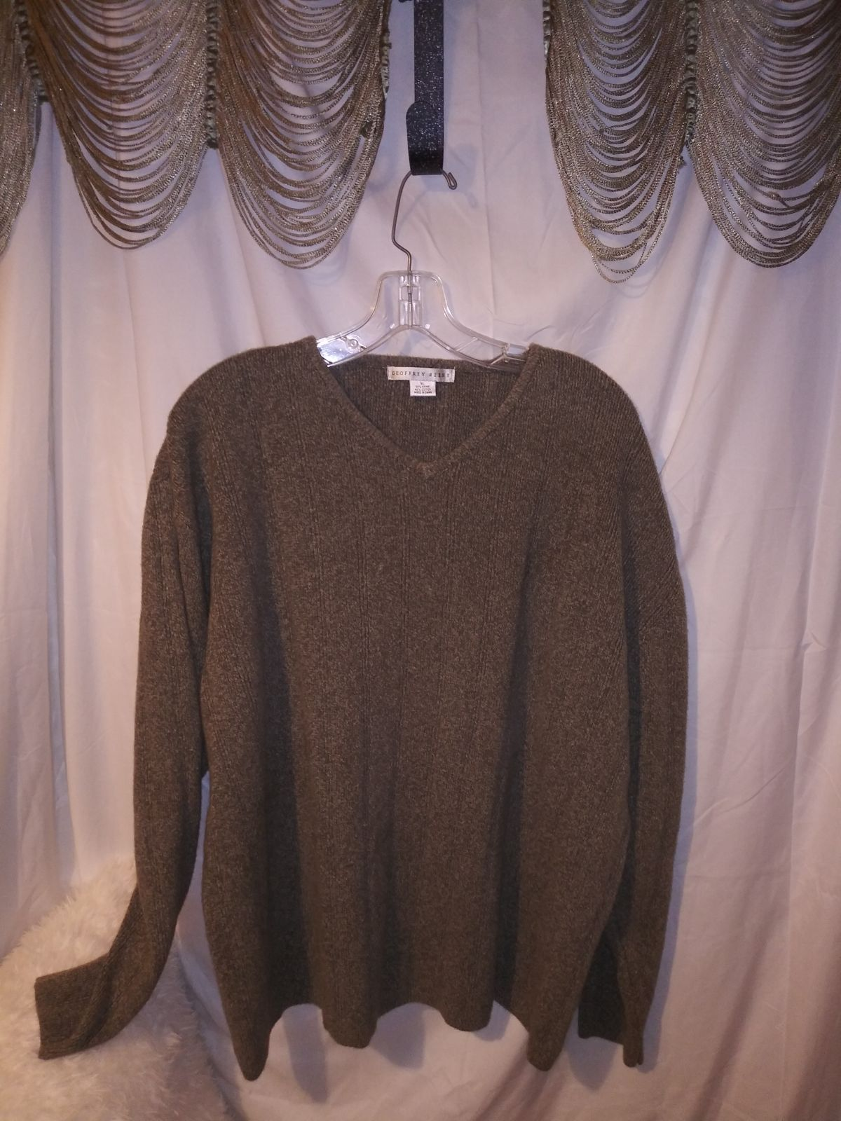 Geoffrey Beene men's sweater size XL