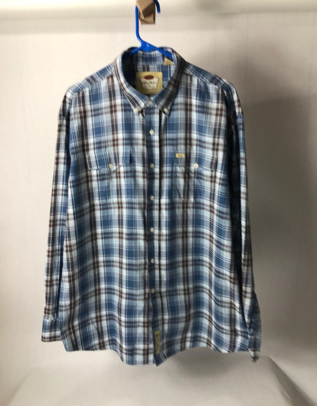 Larry Mahan men's long sleeve shirt XXL
