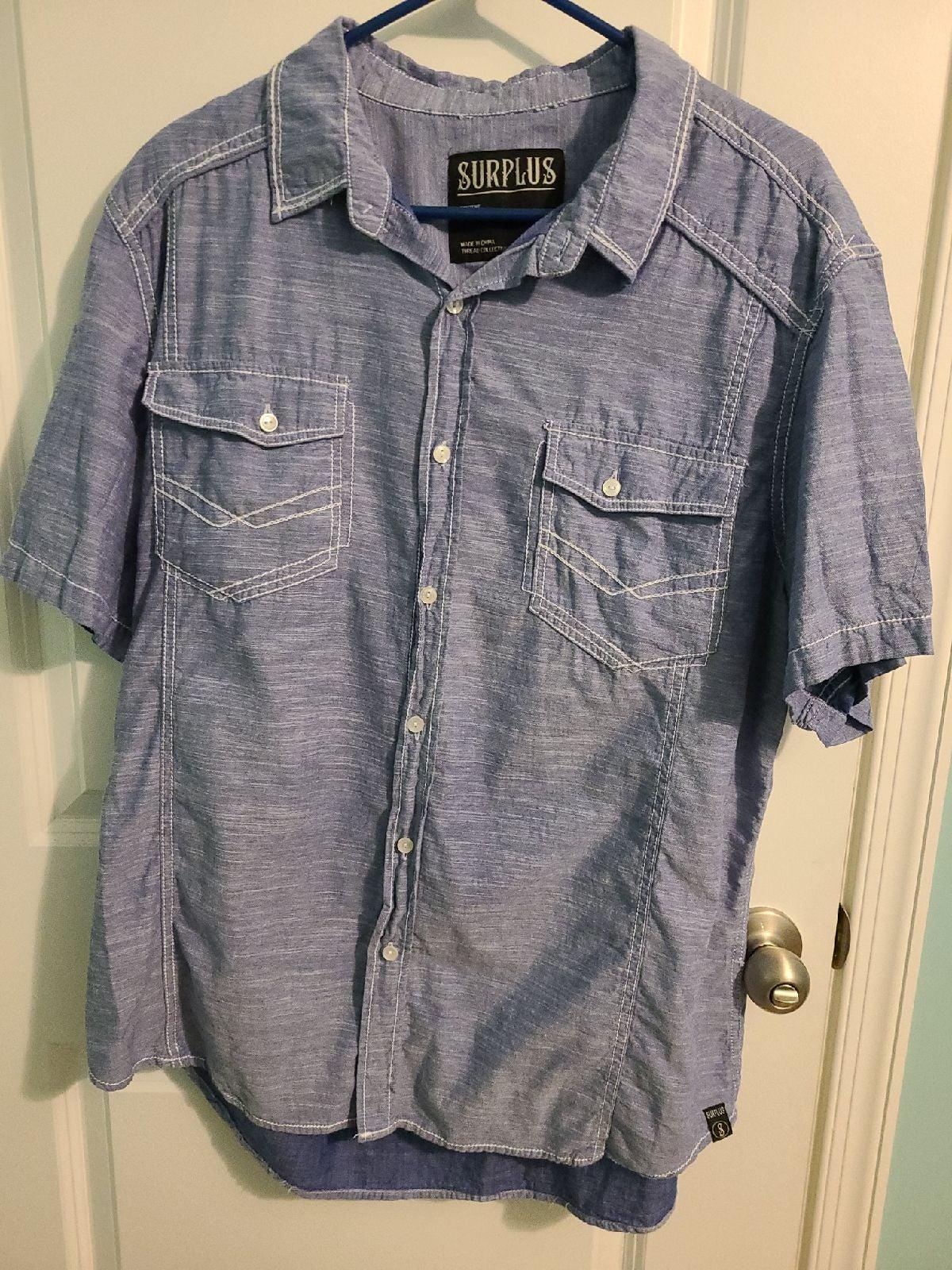 Button up Mens Shirt XXL