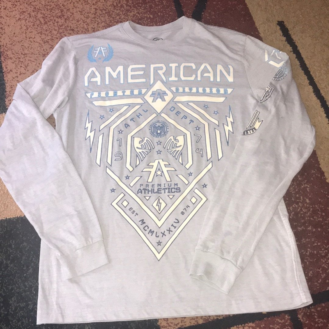 Men's American Fighter shirt long sleeve