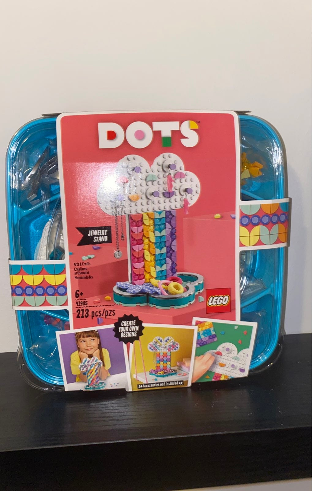 LEGO DOTS Rainbow Jewelry Stand Cool DIY