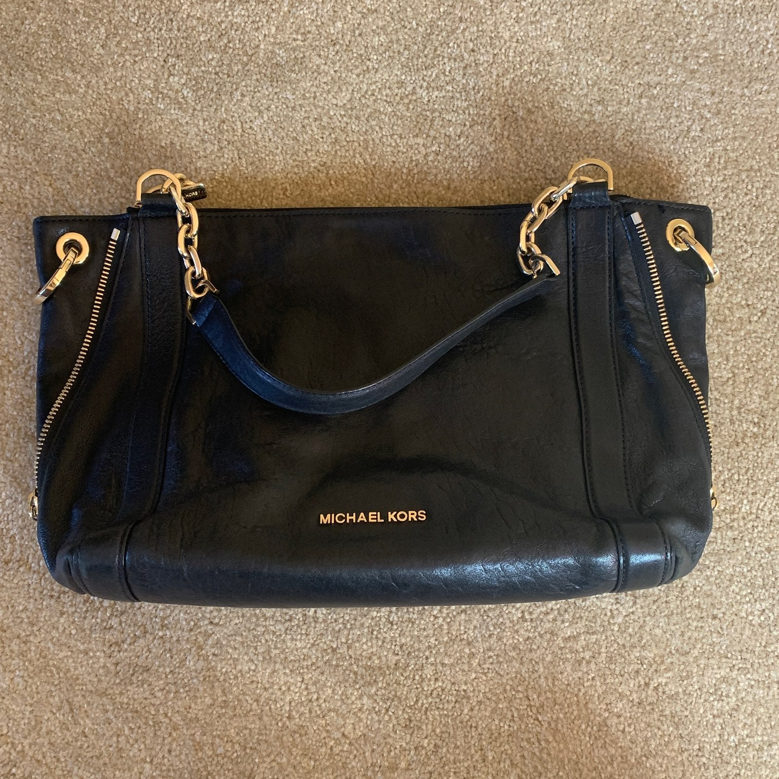 Michael Kors Black Stanthorpe Handbag