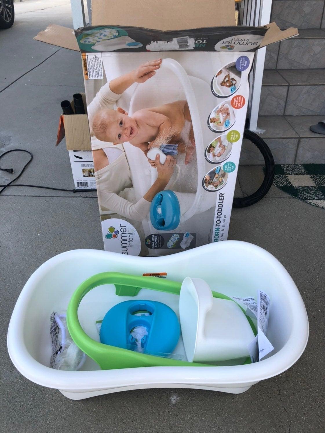 baby shower/bath tub
