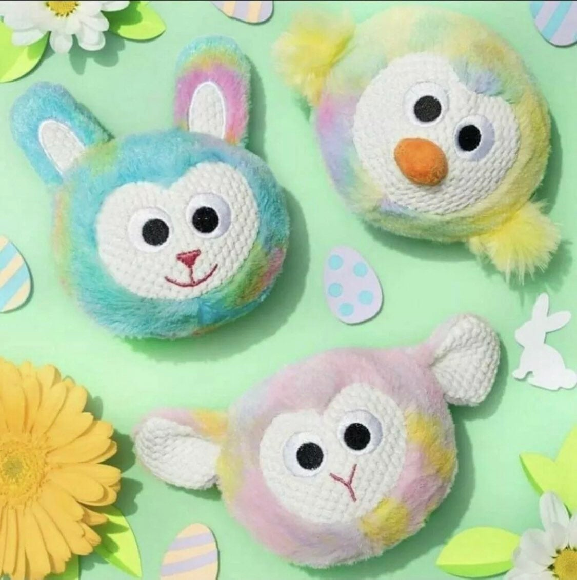 3 Scentsy Easter Bitty Buddy Bunny Lamb