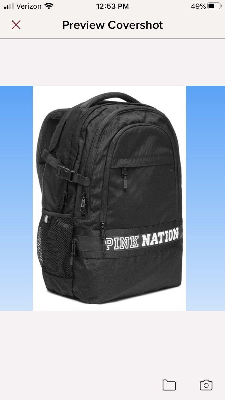 VS PINK Collegiate Backpack