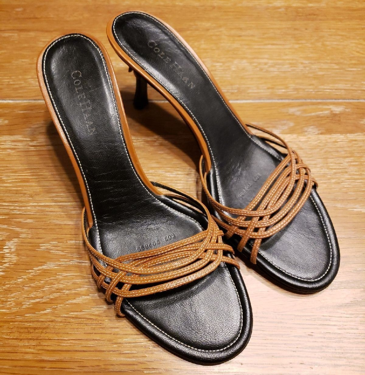 COLE HAAN strappy sandals with heel