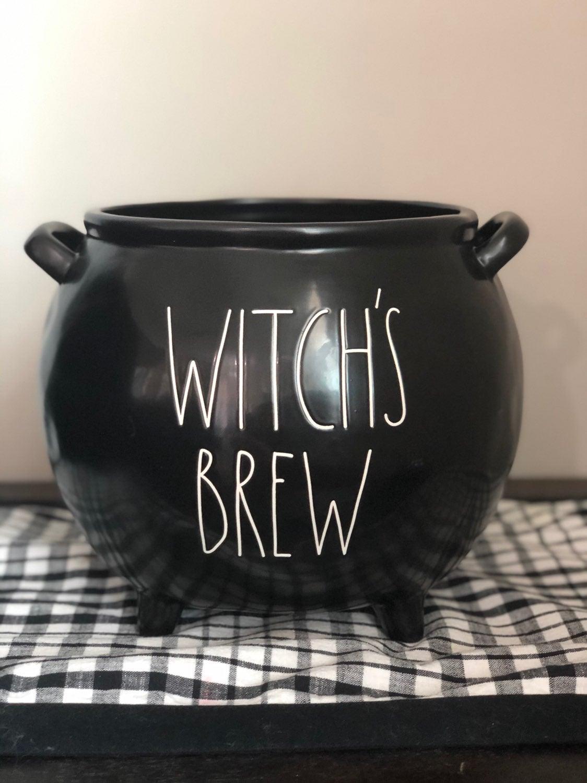 rae dunn witch's brew cauldron
