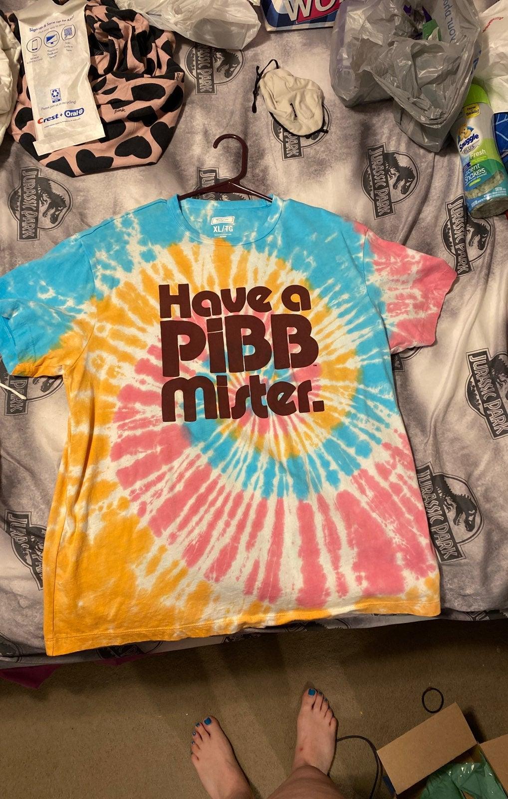 PiBB t shirt coca cola