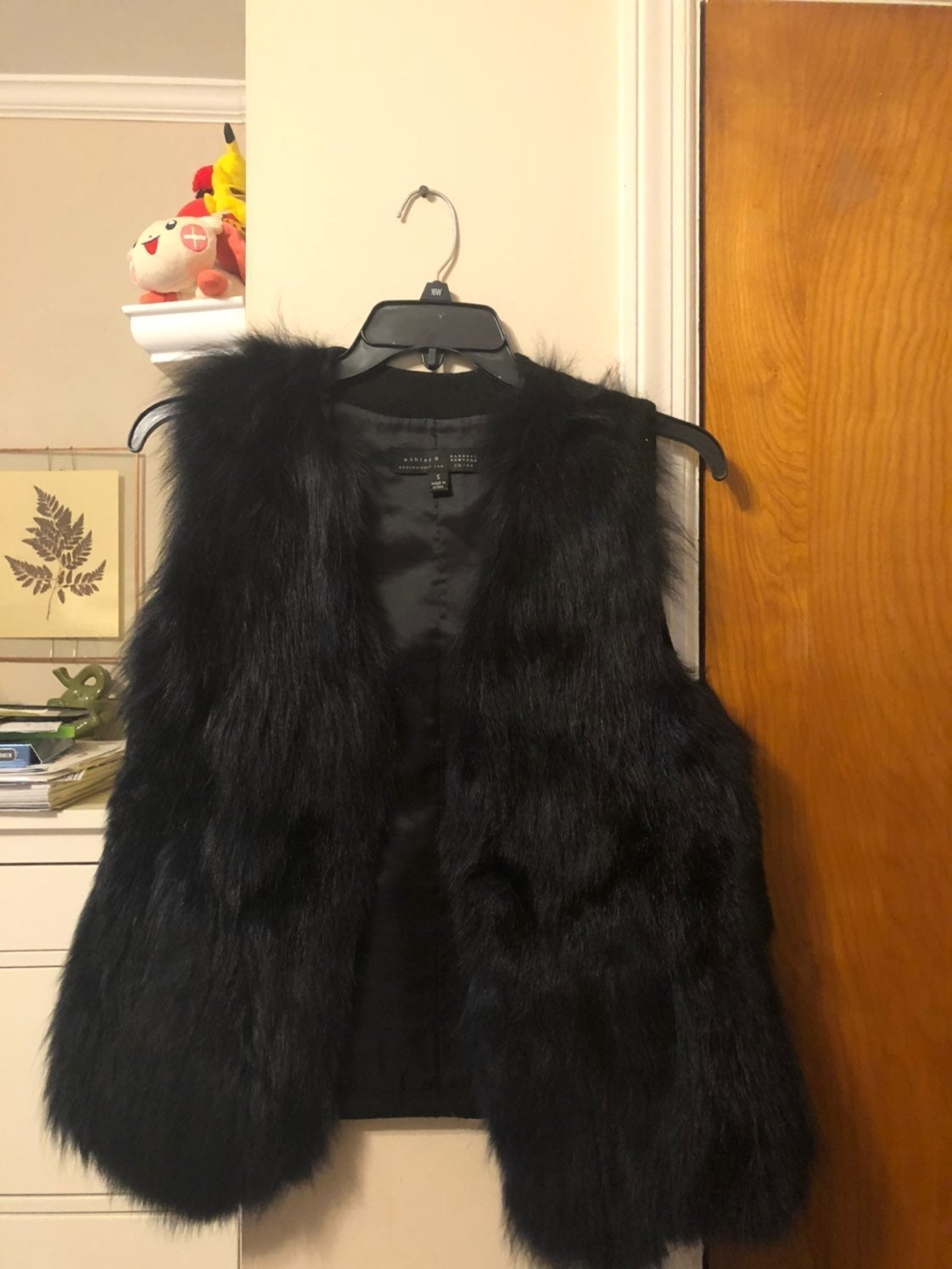 Coyote Fur Vest - NY Barney's Ashley B