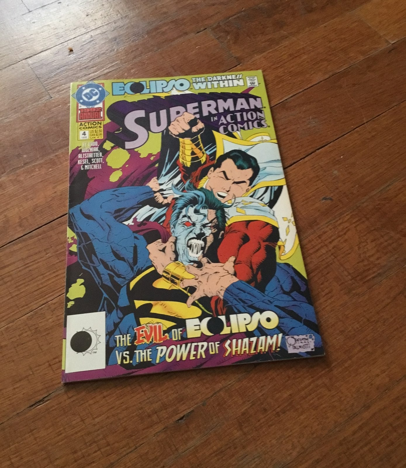 Superman in Action comics the evil of Eo
