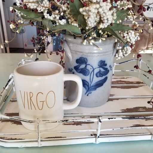 Rae Dunn VIRGO Mug