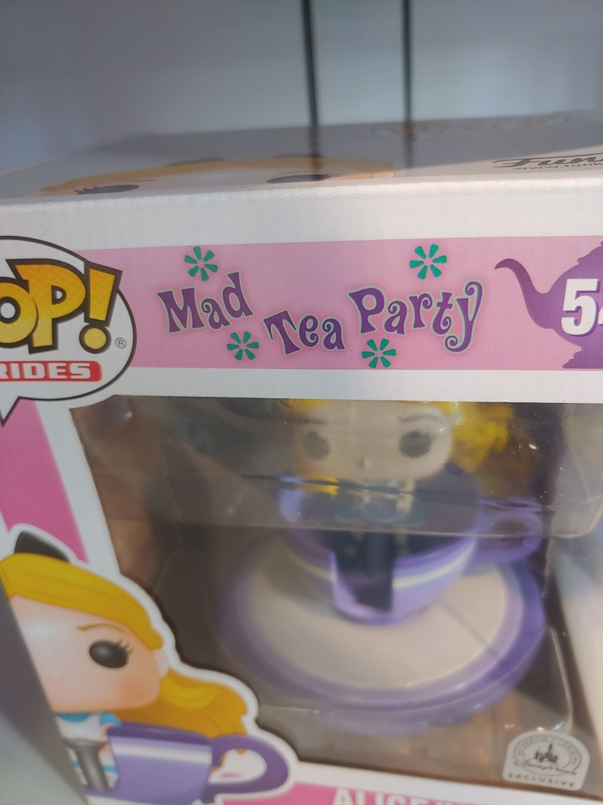 Disney Ex Alice At The Mad Tea Party POP