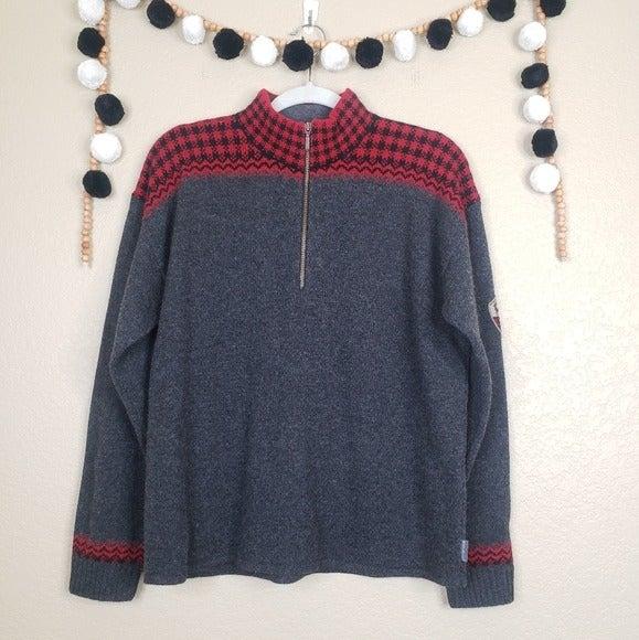 VTG Woolrich 100% Wool Pullover Sweater