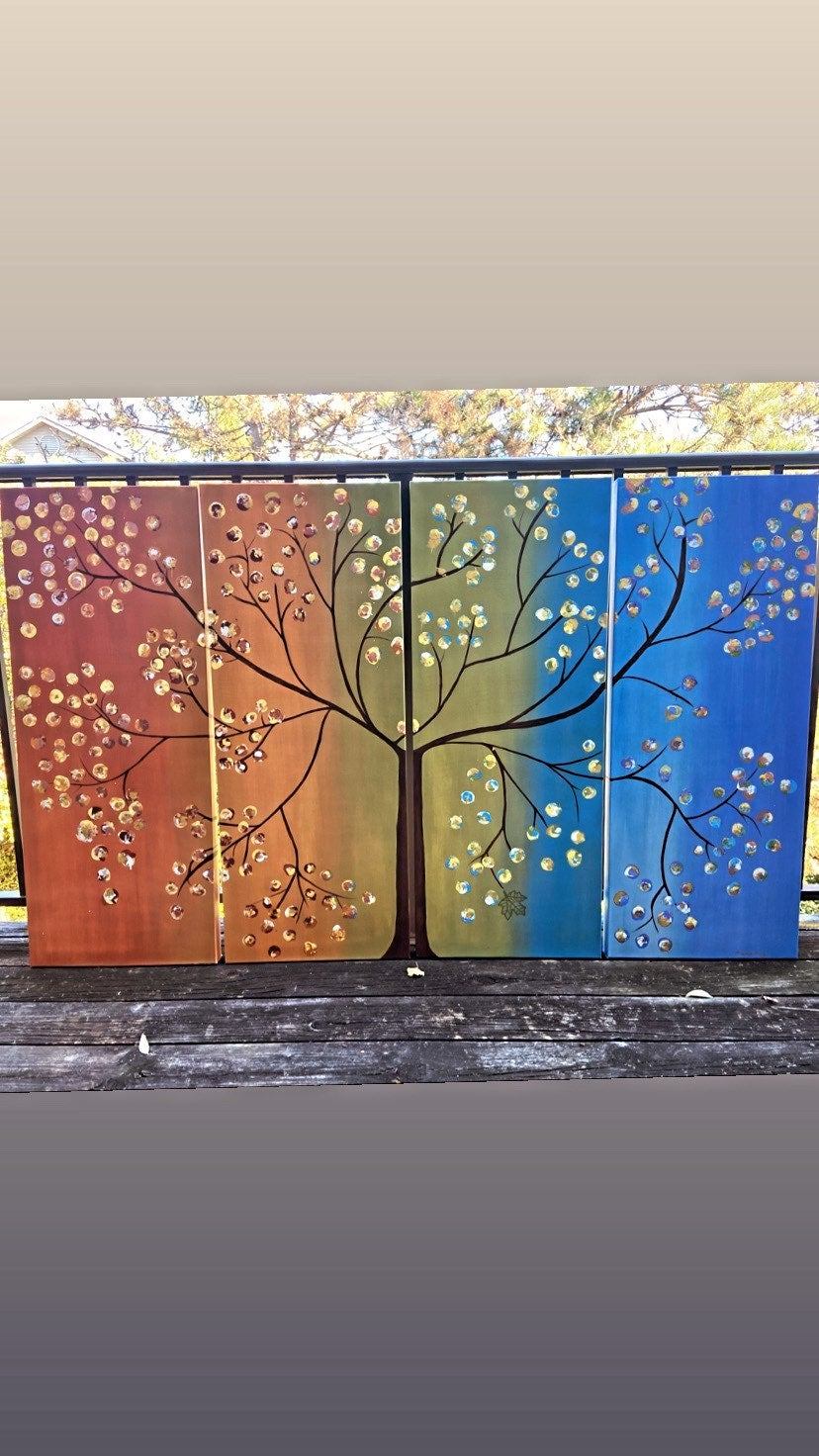 *Tree of Life* PERSONALIZED Canvas Set